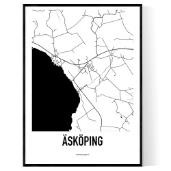 Åsköping Karta
