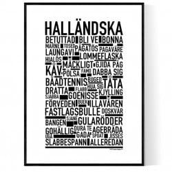 Halländska Poster