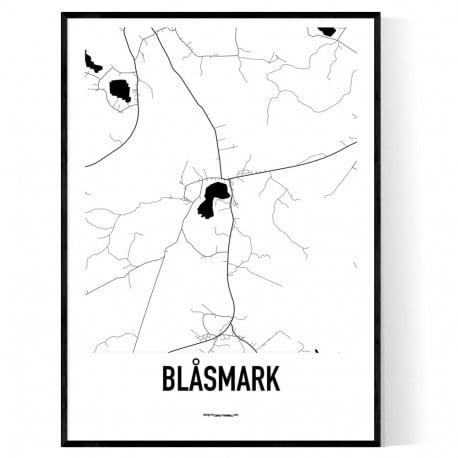 Blåsmark Karta