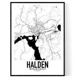 Halden Karta 2