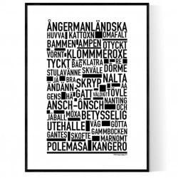 Ångermanländska Poster