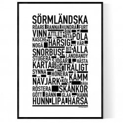 Sörmländska Poster