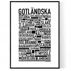 Gotländska Poster