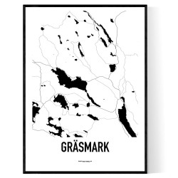 Gräsmark Karta