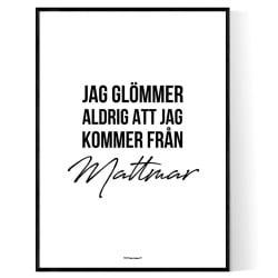 Från Mattmar