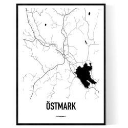 Östmark Karta