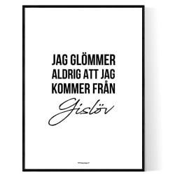 Från Gislöv