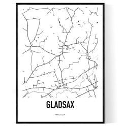 Gladsax Karta