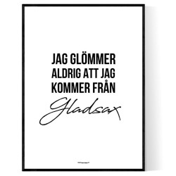 Från Gladsax