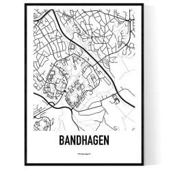 Bandhagen Karta