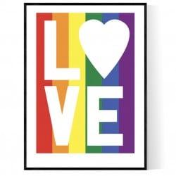 Pride Love Poster