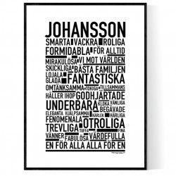 Johansson Poster
