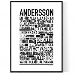 Andersson Poster