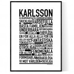 Karlsson Poster