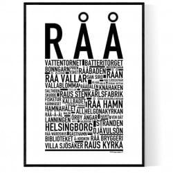 Råå Poster