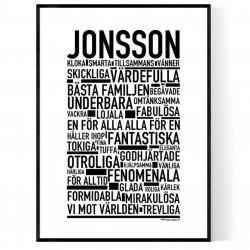 Jonsson Poster