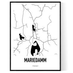 Mariedamm Karta