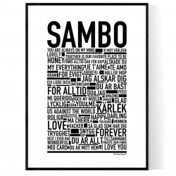 Sambo Poster
