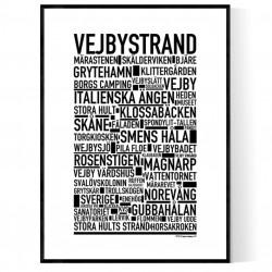 Vejbystrand Poster