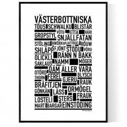 Västerbottniska Poster