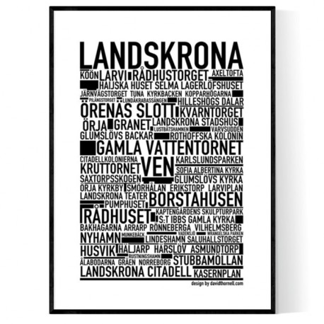 Landskrona Poster