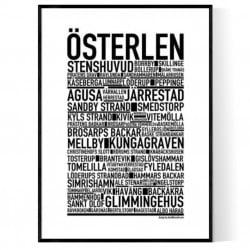 Österlen Poster