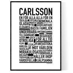 Carlsson Poster