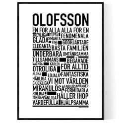 Olofsson Poster
