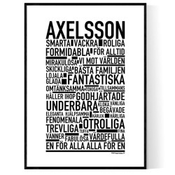Axelsson Poster