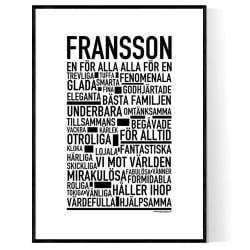 Fransson Poster