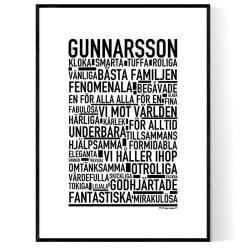 Gunnarsson Poster