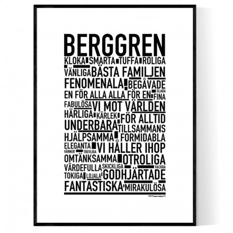 Berggren Poster