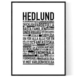 Hedlund Poster