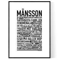 Månsson Poster