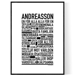 Andreasson Poster