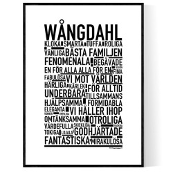 Wångdahl Poster