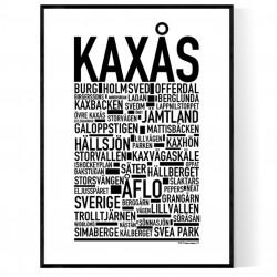 Kaxås Poster