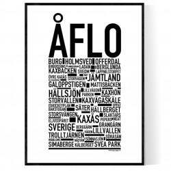 Åflo Poster