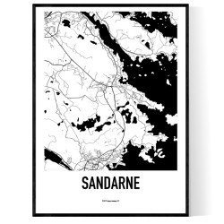Sandarne Karta