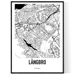 Långbro Karta