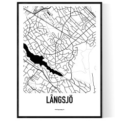 Långsjö Karta