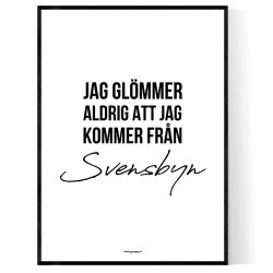 Från Svensbyn