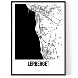 Lerberget Karta