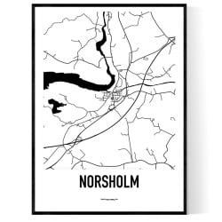 Norsholm Karta