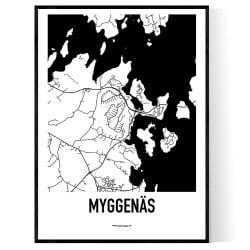 Myggenäs Karta