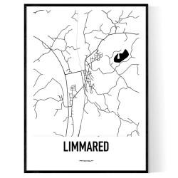 Limmared Karta