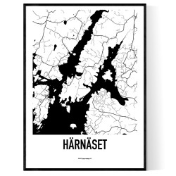 Härnäset Karta