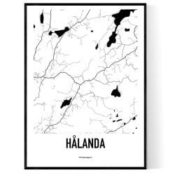 Hålanda Karta