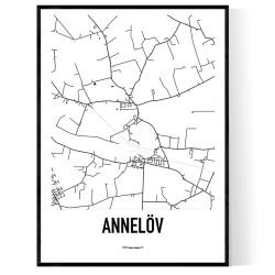 Annelöv Karta