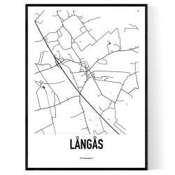 Långås Karta